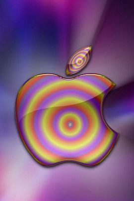 Psychedelic Apple