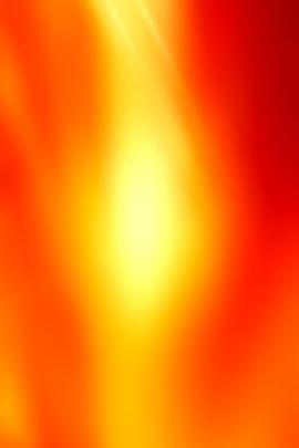 Orange Fire Burst