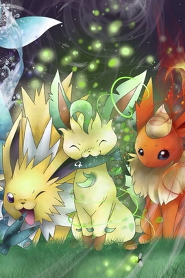 Cute Eevee Brothers