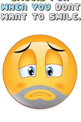 Smutny Emoji