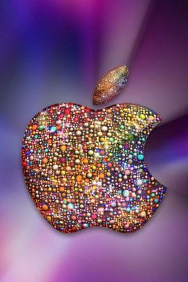 Apple With Sprinkles