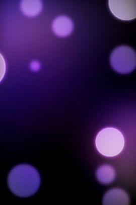 紫色のボケ