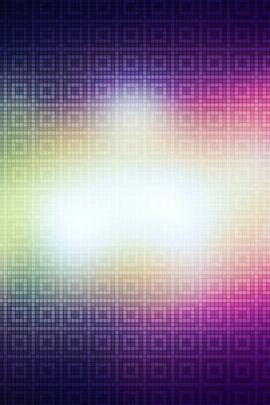 Glowing Mosaic Background