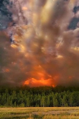 Landscape Clouds