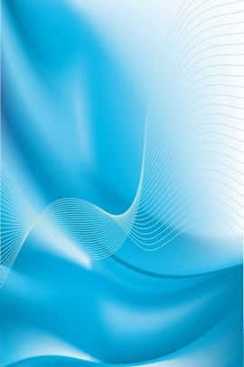 Aqua Blue Abstract