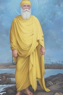 ครู Nanak Dev Jee ใกล้น้ำ