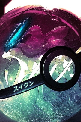 Suicune In Pokeball