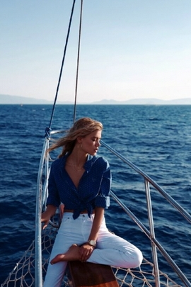 Sea And Woman