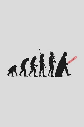 Darth vader Human Evolution