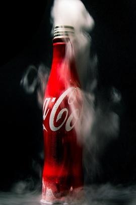 Buz Coca Cola
