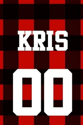 Exo Baseball Long Sleeve Sweater Kris