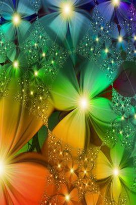 Fraktal çiçekler