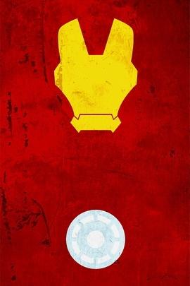 Iron Man Minimal Grunge