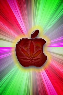 Psychedelic Marijuana Apple 02
