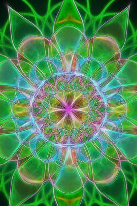 Sunflower Fractal 02