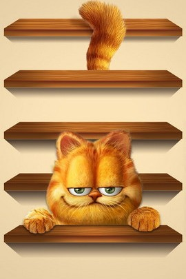 Garfield Shelf