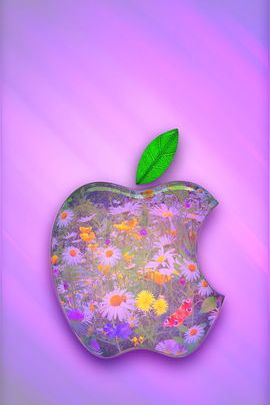Daisy Garden Apple Logo