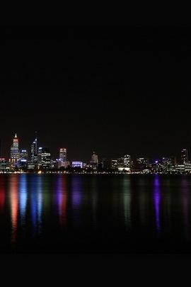 City Night Skyline