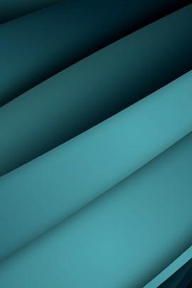Green Bluish Strips