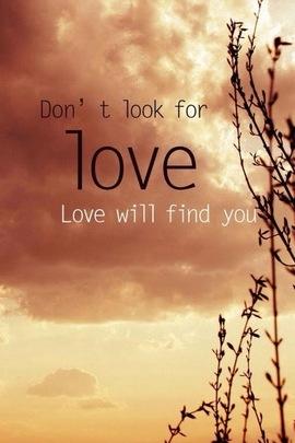 사랑은 당신을 찾을 것입니다