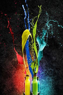 Paint Bottles 01