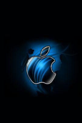 Swirly Apple Blue