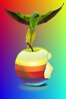 Apple Parrots
