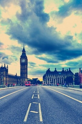 London Big Ben Road