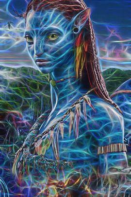 Fractal Avatar Neytiri