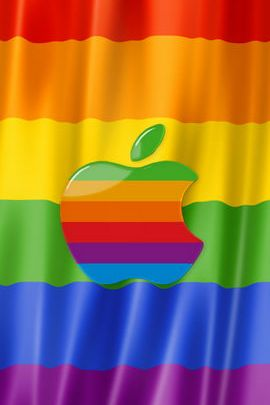 Lgbt Apple Flag