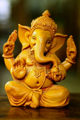 Golden Ganesha
