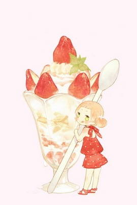 Girly W Strawberries