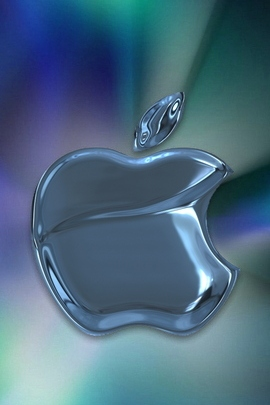 Blue Metal Apple