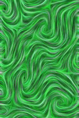 Swirly Whirly Green