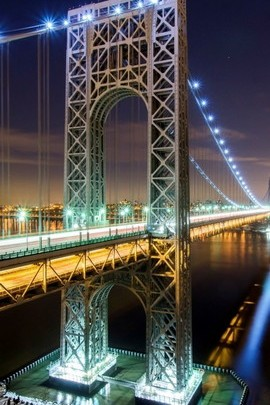 Blue Lights Bridge