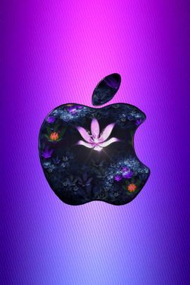 Violet Flower Apple