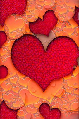 Cutout Hearts
