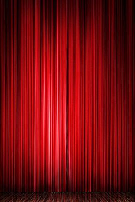 Show Curtains Floor