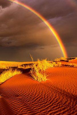 Arco iris del desierto