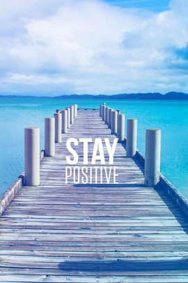 إبقى إيجابيا