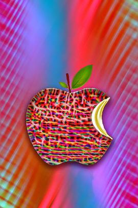 Artistic Apple