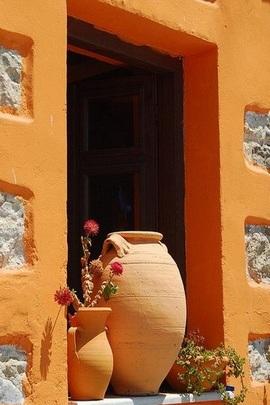 Orange Window