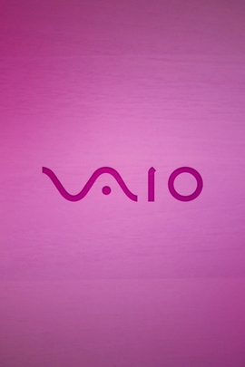 Pink Sony vaioロゴ