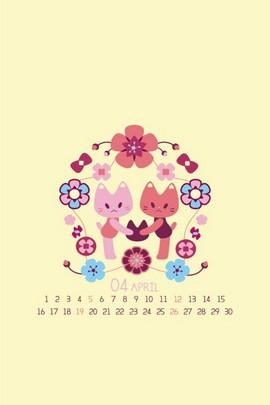 Cat's Blossom April
