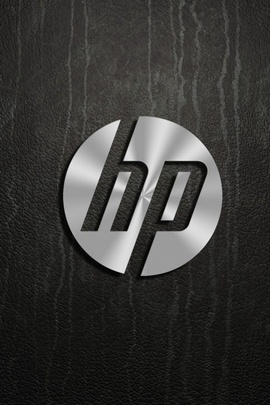 Logotipo Hp Dark