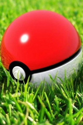 Pokeball Grass