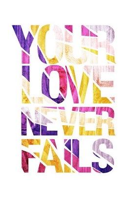 사랑은 절대 실패하지 않는다