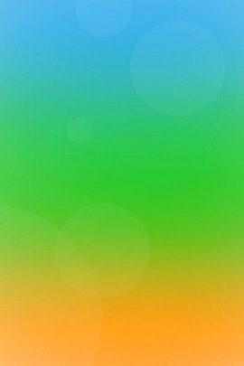 Blue Green Orange Gradient