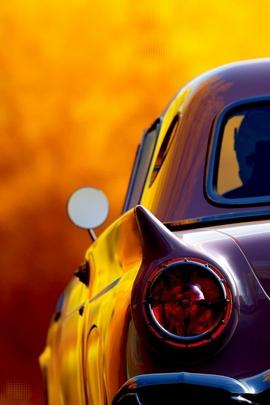Carro retro clássico