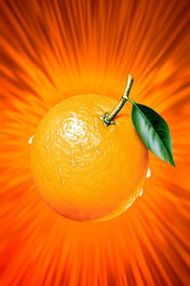 Orange Splash!